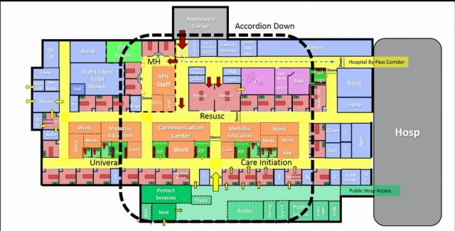 floor plan for IWK hospital