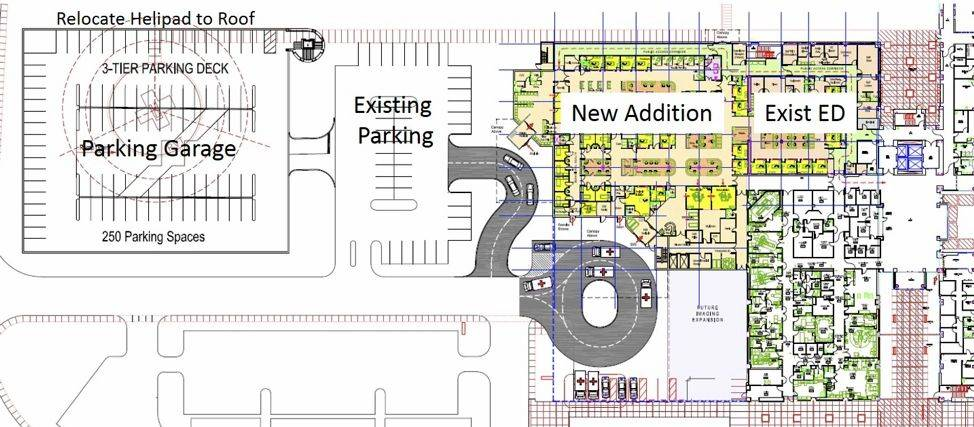 phased expansion plan for NMC