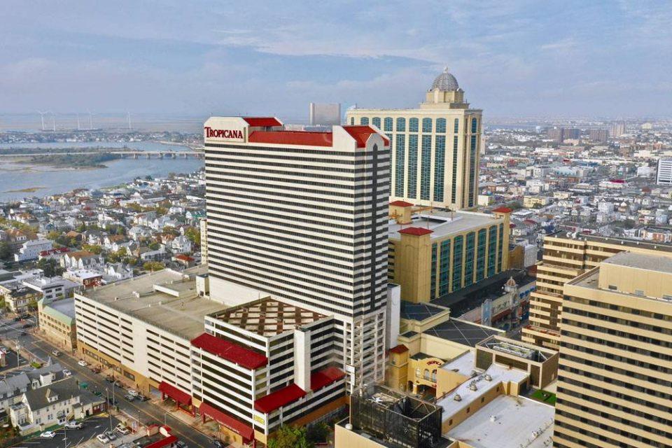 aerial view of Tropicana Casino