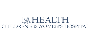 USA Health Children & Women's Hospital logo